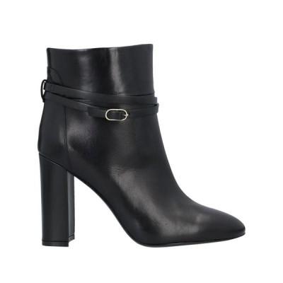 TWINSET ショートブーツ ファッション  レディースファッション  レディースシューズ  ブーツ  その他ブーツ ブラック
