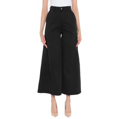DIXIE パンツ ブラック S コットン 97% / ポリウレタン 3% パンツ
