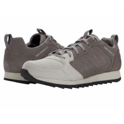 Merrell メレル メンズ 男性用 シューズ 靴 スニーカー 運動靴 Alpine Sneaker Charcoal Suede【送料無料】