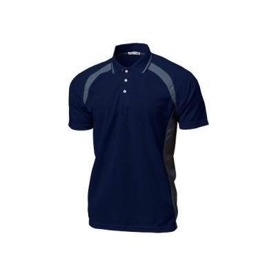 ベーシックテニスシャツ P-1710 (130〜150サイズ) ネイビー