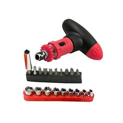 送料無料!Screwdriver 20pcs/set Hand Tools Ratchet Screwdriver Wrench Set