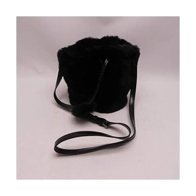インポートエアー 巾着バッグ(毛付き) A8111K041 クロ