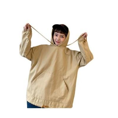 [TaiShan] レディース ファッション すべて 一致 フード付き セーター 春と秋 薄い緩い 韓国 スタイル トレンディ