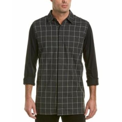 Plaid  ファッション ドレス Quinn Plaid Woven Shirt M
