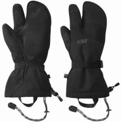 アウトドアリサーチ 手袋・グローブ Highcamp 3-Finger Gloves BLACK