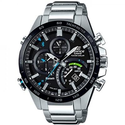 【正規品】カシオ CASIO エディフィス タイムトラベラースマートフォンリンクモデル EQB-501XDB-1AJF ブラック文字盤 新品 腕時計 メンズ