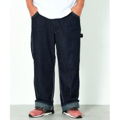 パンツ デニム ジーンズ 【大きいサイズ 2L~5L】Lee/リーDungrees ペインターパンツ