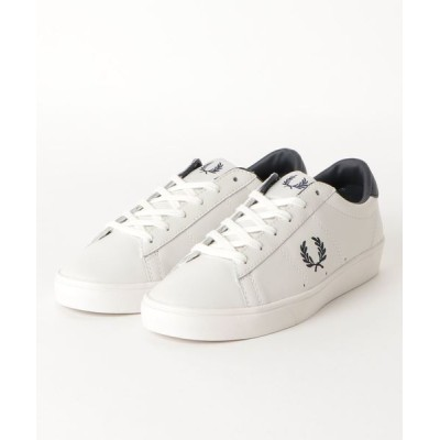 atmos pink / FRED PERRY SPENCER LEATHER (PORCELAIN/NAVY) MEN シューズ > スニーカー