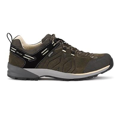 ガルモントトレッキングシューズ ローカット 登山靴 SANTIAGO L GTX 481 /211オリーブ25.5