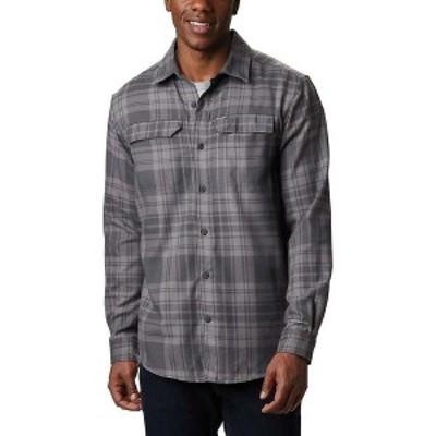 コロンビア メンズ シャツ トップス Columbia Men's Silver Ridge 2.0 Flannel Shirt Shark Flannel