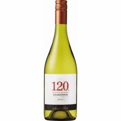 ワイン【チリ国内シェアNo.1ワイナリー サンタ・リタ】サンタ・リタ 120(シェント・ベインテ)シャルドネ 750ml 1本 wine