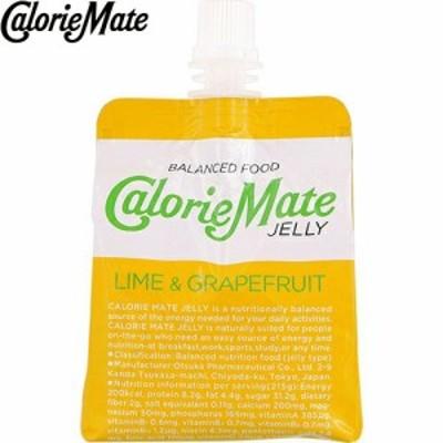 カロリーメイトゼリー ライム&グレープフルーツ味 215g×6 *大塚製薬 Calorie Mate