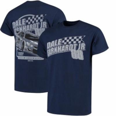 Kudzu クズ スポーツ用品  Dale Earnhardt Jr. Navy Salt Life Vintage Slant T-Shirt