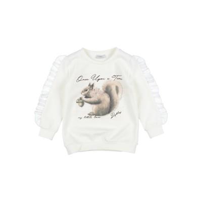 ビブロス BYBLOS スウェットシャツ アイボリー 6 コットン 95% / ポリウレタン 5% スウェットシャツ