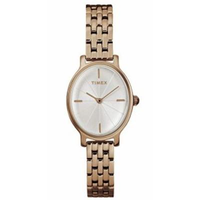 腕時計 タイメックス レディース TIMEX Rose Gold Stainless Steel Watch-TW2R94000