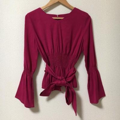 Ennea エンネア 長袖 シャツ、ブラウス Shirt, Blouse  10005165