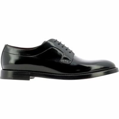 ドルチェandガッバーナ Dolce and Gabbana メンズ 革靴・ビジネスシューズ レースアップ シューズ・靴 Derby Lace-Up Shoes Black