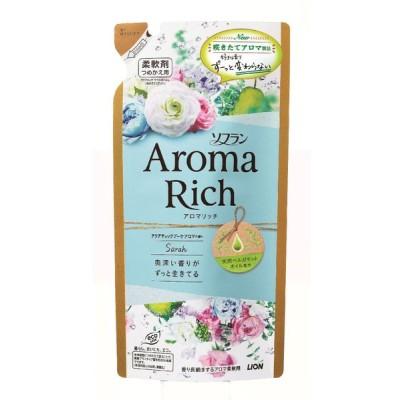 ライオン ソフラン アロマリッチ サラ アクアティックブーケアロマの香り 詰替 400ml