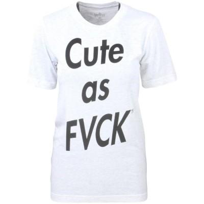 マリードゥ トゥ ザ モブ Married To The Mob レディース Tシャツ トップス Cute As F Tee gray/heather