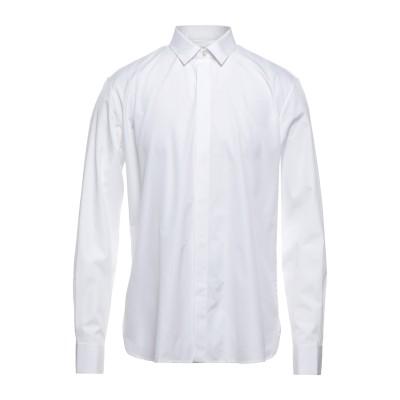 SAINT LAURENT シャツ ホワイト 39 コットン 100% シャツ