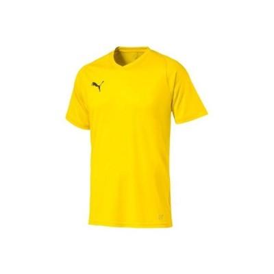 [プーマ]LIGA ゲームシャツ コア  メンズ サイバー イエロー/プーマ ブラック (07) - M (日本サイズM相当)