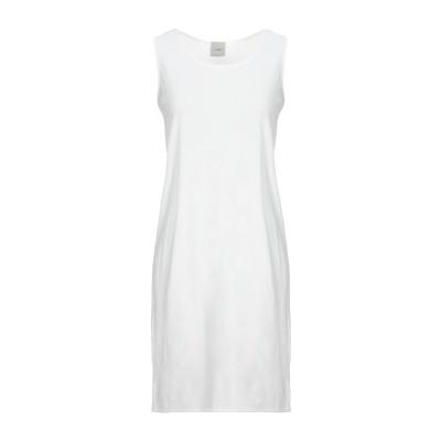 ...À_LA_FOIS... ミニワンピース&ドレス ホワイト 0 コットン 100% ミニワンピース&ドレス