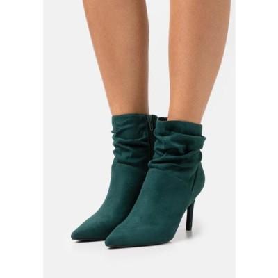 アンナフィールド レディース 靴 シューズ High heeled ankle boots - green