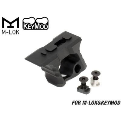 TD CNC HALO ハンドストップ KeyMod & M-LOK BK