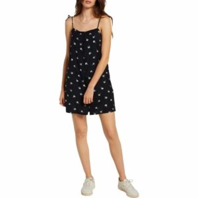 ボルコム VOLCOM レディース ワンピース サンドレス ワンピース・ドレス Coco Tie Strap Sundress Black Combo