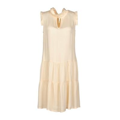 ツインセット シモーナ バルビエリ TWINSET ミニワンピース&ドレス あんず色 S 100% レーヨン ミニワンピース&ドレス
