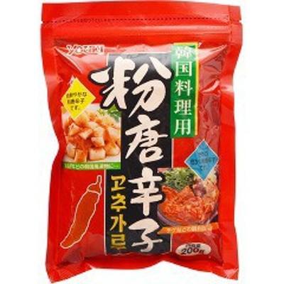 ユウキ食品 粉唐辛子(韓国料理用)(200g)[香辛料]
