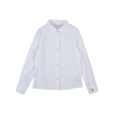 ドルチェ & ガッバーナ DOLCE & GABBANA シャツ ホワイト 5 コットン 97% / ポリウレタン 3% シャツ
