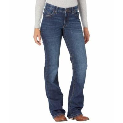 ラングラー デニムパンツ ボトムス レディース Willow Mid-Rise Riding Bootcut Jeans Lovette