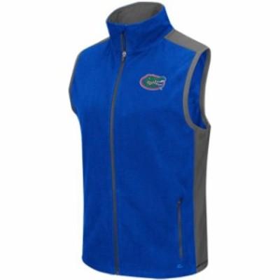 Colosseum コロセウム スポーツ用品  Colosseum Florida Gators Royal Mesa Corded Fleece Vest