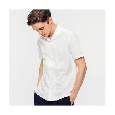 LACOSTE/ラコステ COOLMAXカッターシャツ ホワイト 3(日本サイズM)