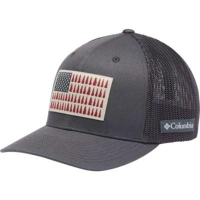 コロンビア Columbia メンズ キャップ 帽子 Mesh Tree Flag Ball Cap Shark/Shark