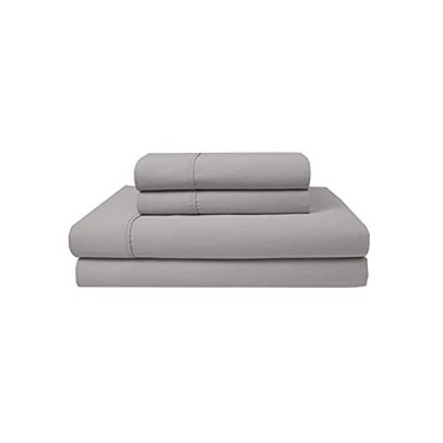 Elite Home Products 300 Thread Count Organic Cotton Deep-Pocketed Sheet Set