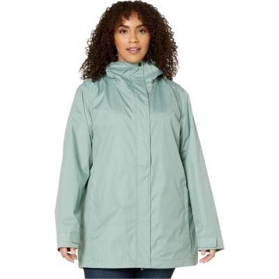 コロンビア Columbia レディース レインコート 大きいサイズ アウター Plus Size Splash A Little II Rain Jacket Light Lichen