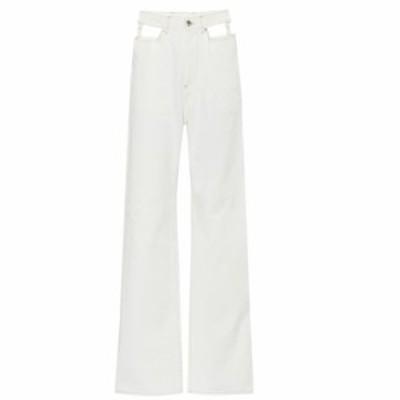 メゾン マルジェラ Maison Margiela レディース ジーンズ・デニム ボトムス・パンツ High-rise wide-leg jeans