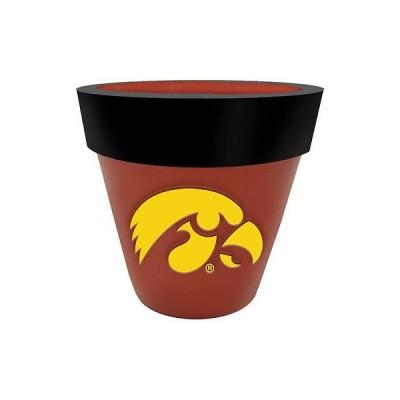 カレッジ NCAA 大学 アメリカ スポーツ USA ザメモリーカンパニー Iowa Hawkeyes Team Planter Flower Pot