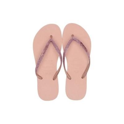 ハワイアナス レディース サンダル シューズ Slim Glitter Sandal