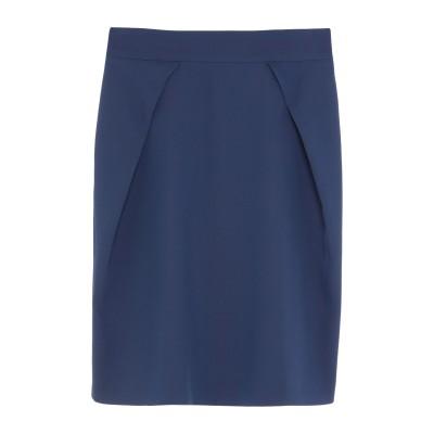 アンナリータ エンネ ANNARITA N ひざ丈スカート ブルー 38 ポリエステル 95% / ポリウレタン 5% ひざ丈スカート
