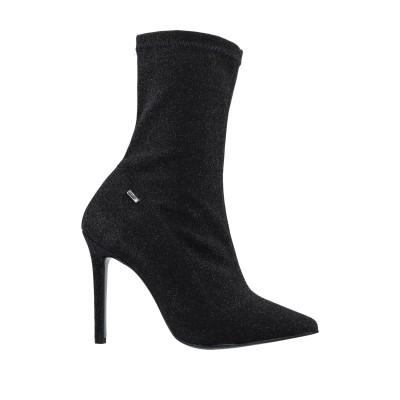 リュー ジョー LIU •JO ショートブーツ ブラック 39 紡績繊維 ショートブーツ