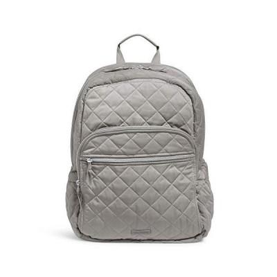 (新品) Vera Bradley Women's Performance Twill Campus Backpack, Tranquil Gray, One Size