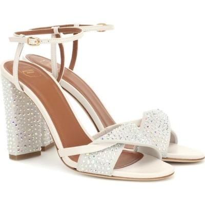 マローンスリアーズ Malone Souliers レディース サンダル・ミュール シューズ・靴 tara embellished sandals Cream