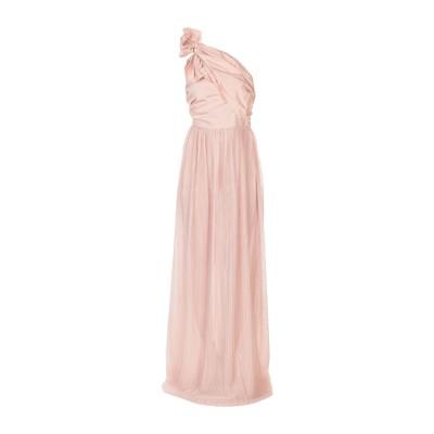 ピンコ PINKO ロングワンピース&ドレス ピンク 40 ポリエステル 100% ロングワンピース&ドレス