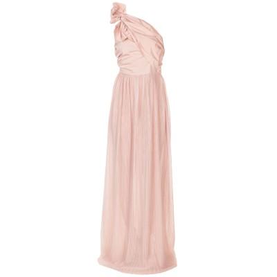 ピンコ PINKO ロングワンピース&ドレス ピンク 42 100% ポリエステル ロングワンピース&ドレス