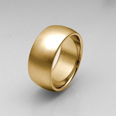 純金リング K24 平甲丸型 9mm 6匁 22.5g ヘアーライン オーダー  結婚指輪  24金 指輪 高密度 鍛造 たんぞう 記念日 ギフト