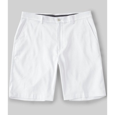 ランドツリーアンドヨーク メンズ ハーフ&ショーツ ボトムス Performance 9#double; Inseam Flat Front CoreComfort Shorts White