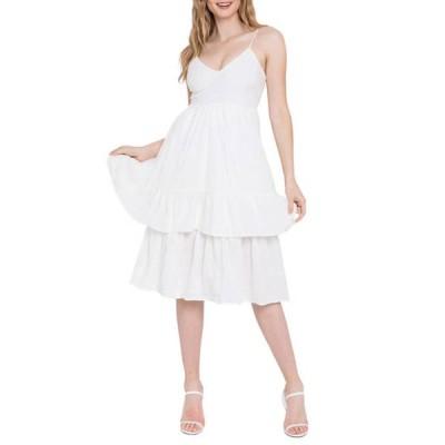 エンドレスローズ レディース ワンピース トップス Women's Two Tiered Dress
